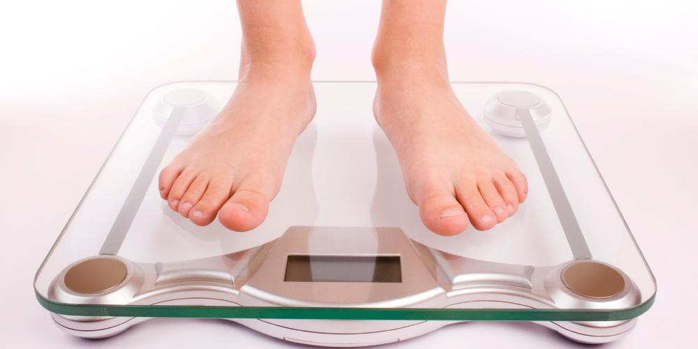 Похудание у детей