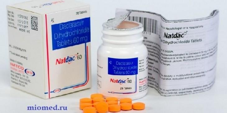 Лечение гепатита С Даклатасвиром