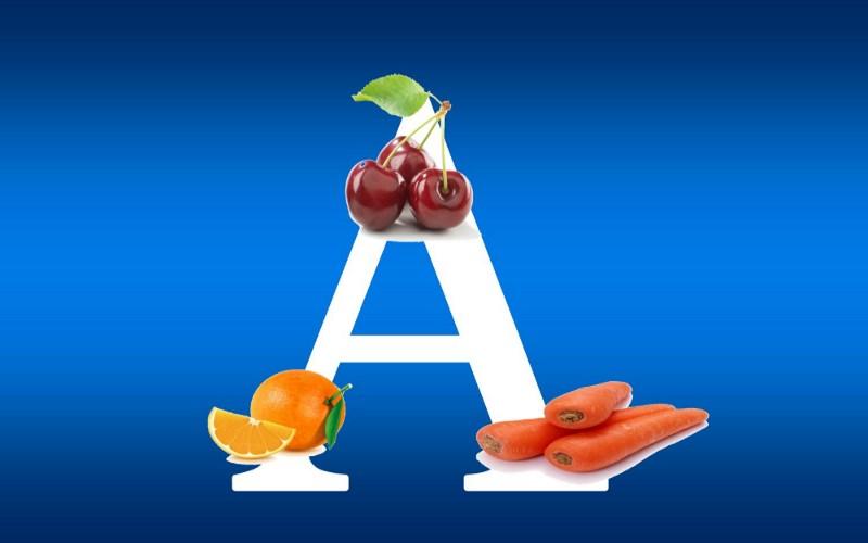 Витамин А в продуктах питания