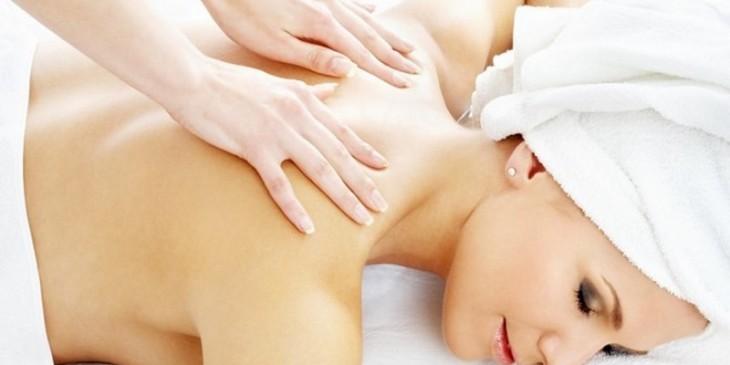 Сеанс лечебного массажа